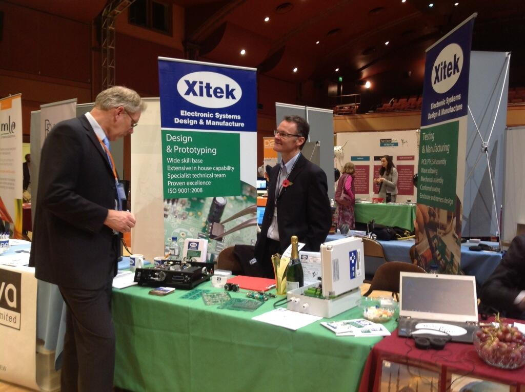 Xitek at The Malvern Festival of Innovation 2013