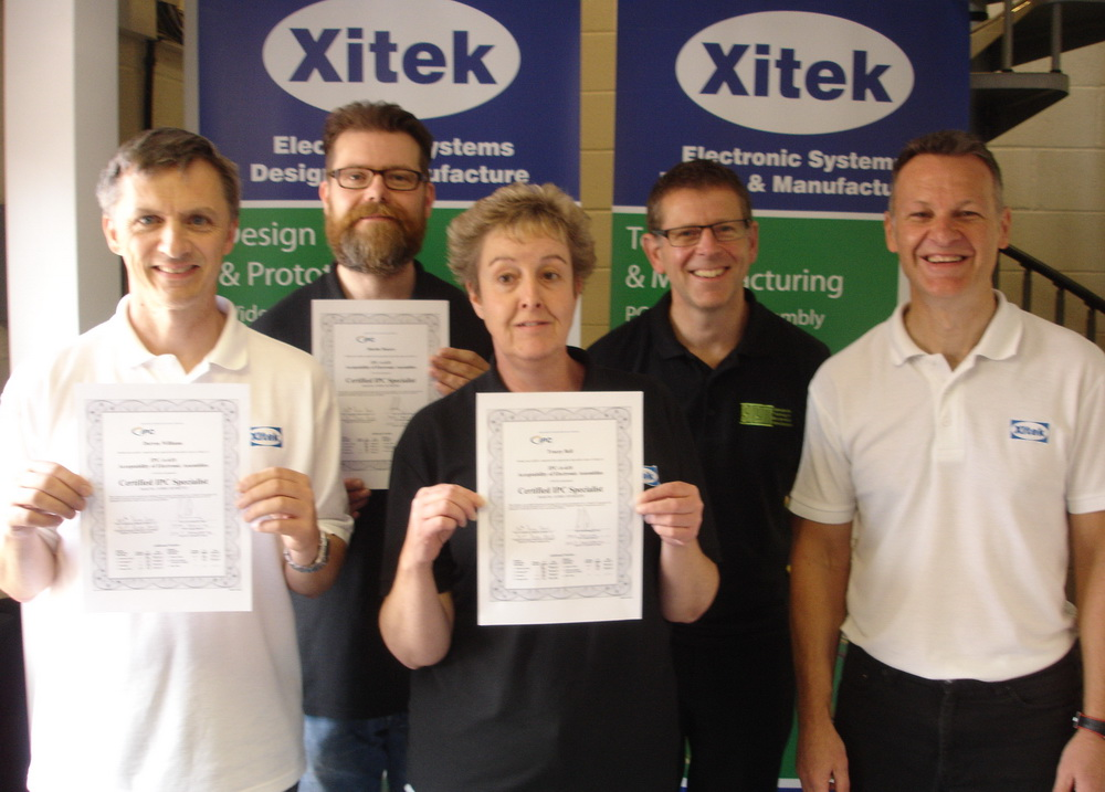 Xitek's IPC-A-610 Inspection Team